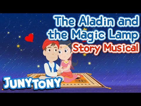 The Aladdin and The Magic Lamp | Magic Carpet Ride | Story Musical | Kids Musical | KizCastle