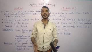 Future Trends Technology (WiMax ,Mobile Fi ,ZigBee & UltraBand) in Urdu/Hindi