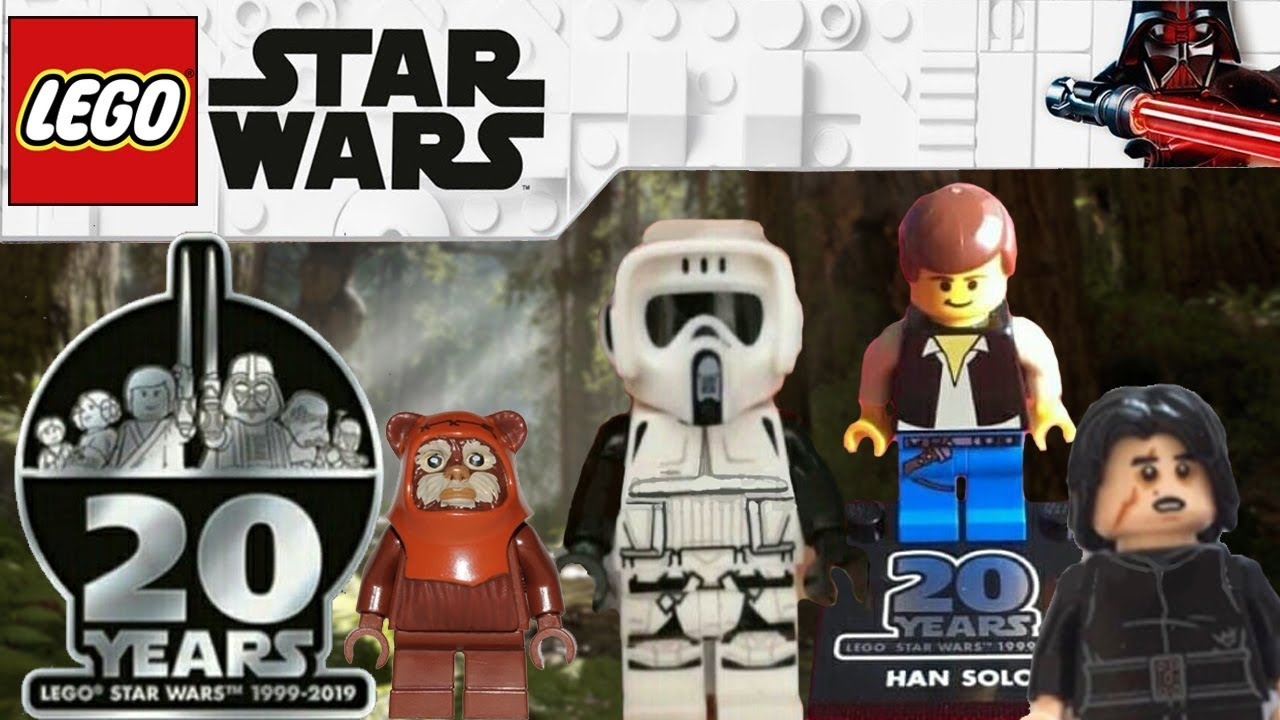 Amazing Figs Lego Star Wars 2019 April And 20th Anniversary