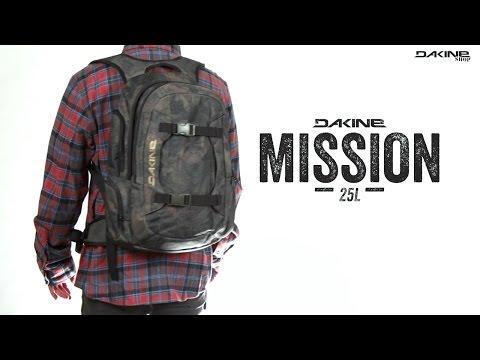 Dakine Mission 25L Rucksack - Uni & Snowboard Rucksack zugleich - der perfekte Allrounder