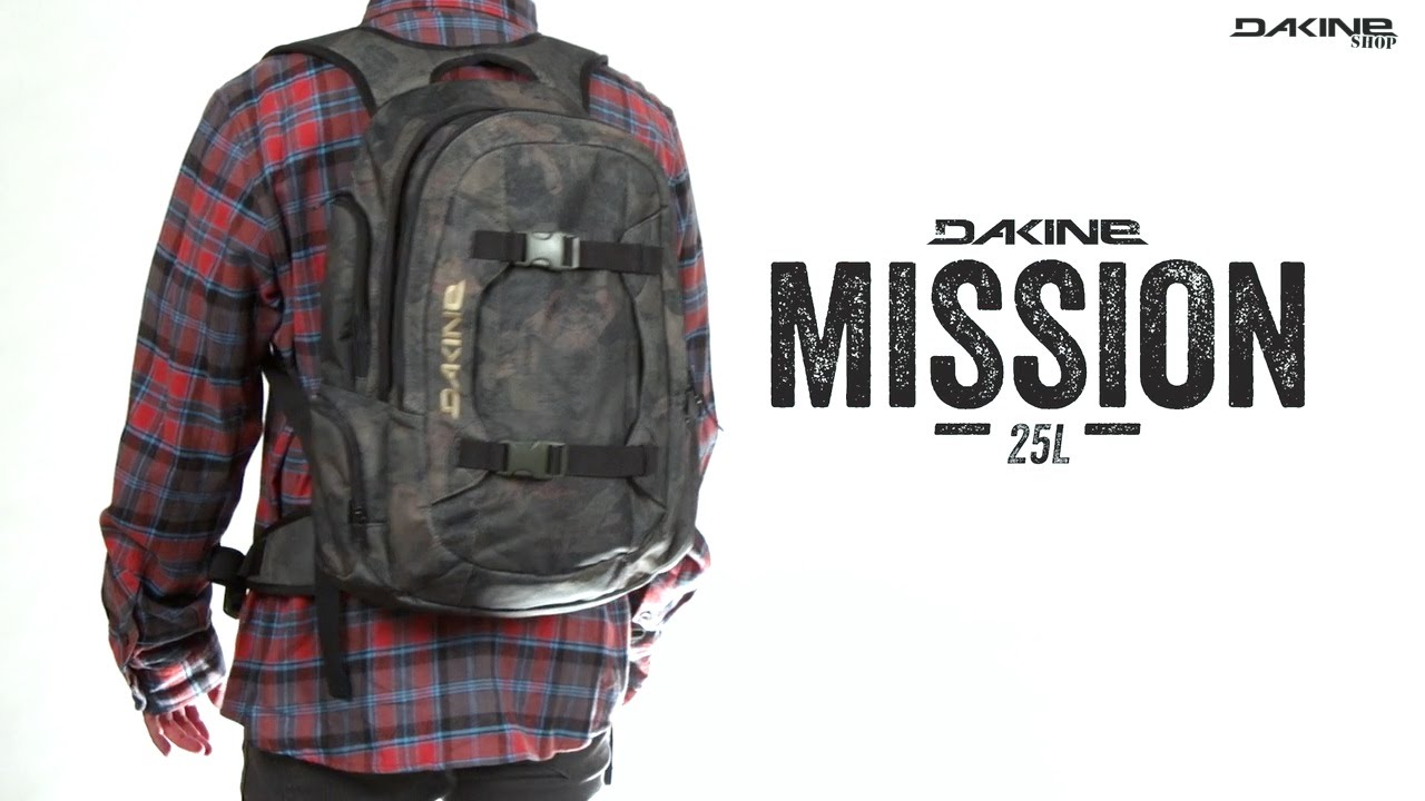 The Dakine Mission 25L Rucksack - Uni & Snowboard Backpack all at ...