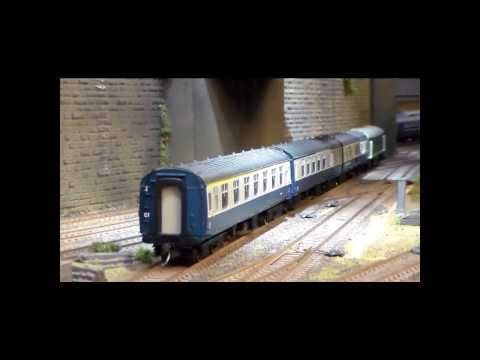 Shunting, switching, marshalling on Bradford City Road model railway