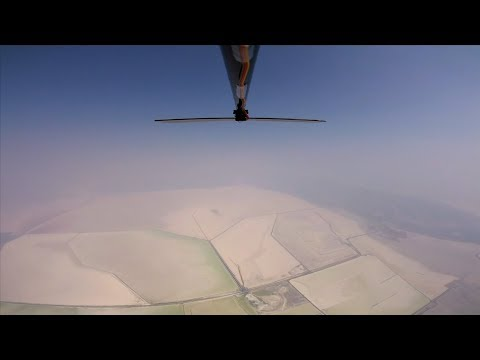 Solar Plane FPV Altitude Flight - RCTESTFLIGHT