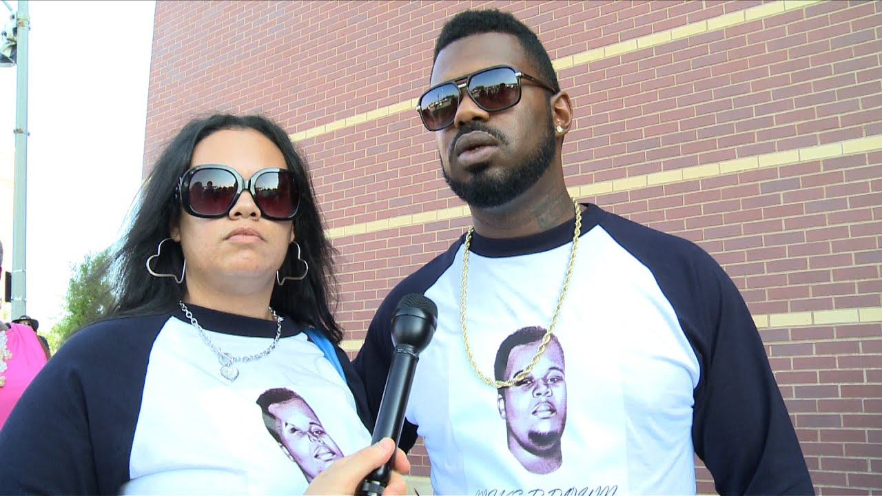 """There Will Be Justice"": Mourners Speak Outside Michael Brown's Funeral in St. Louis"