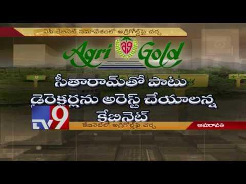 AP Cabinet discusses Agri Gold issue - TV9