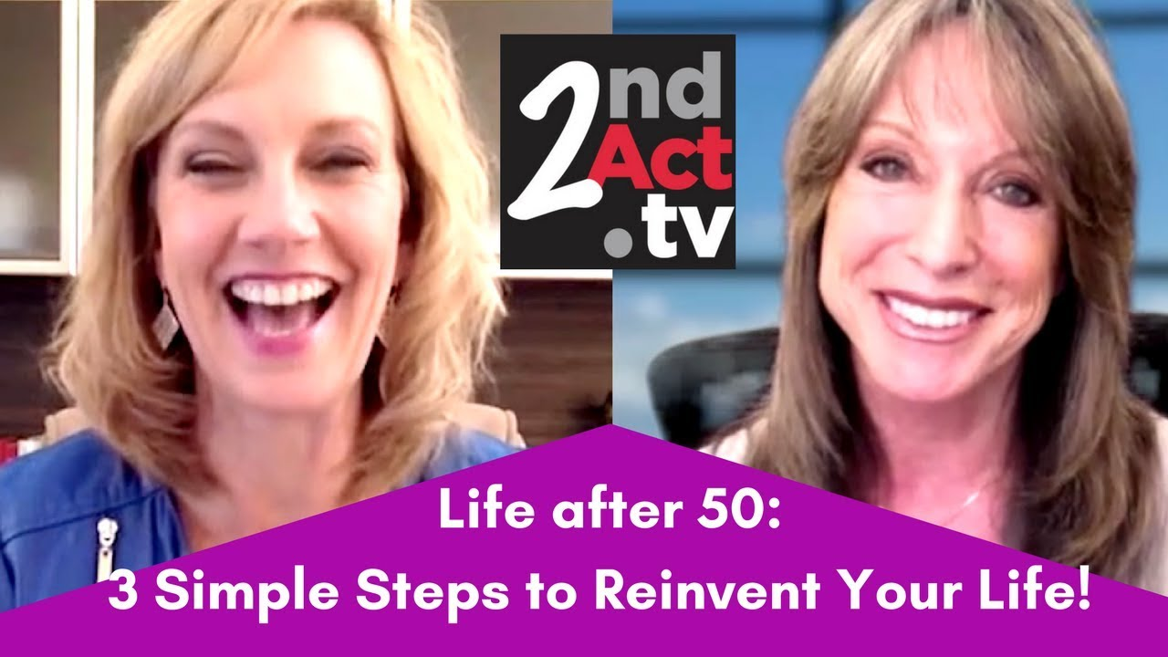 How to reinvent your life at 50
