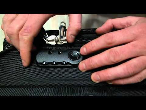 Как запрограммировать замок на чемодане