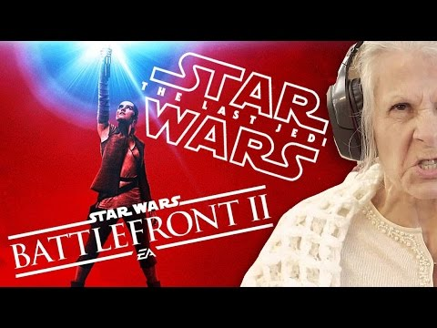 Star Wars: Battlefront 2, The Last Jedi και 44χρονες gamer!
