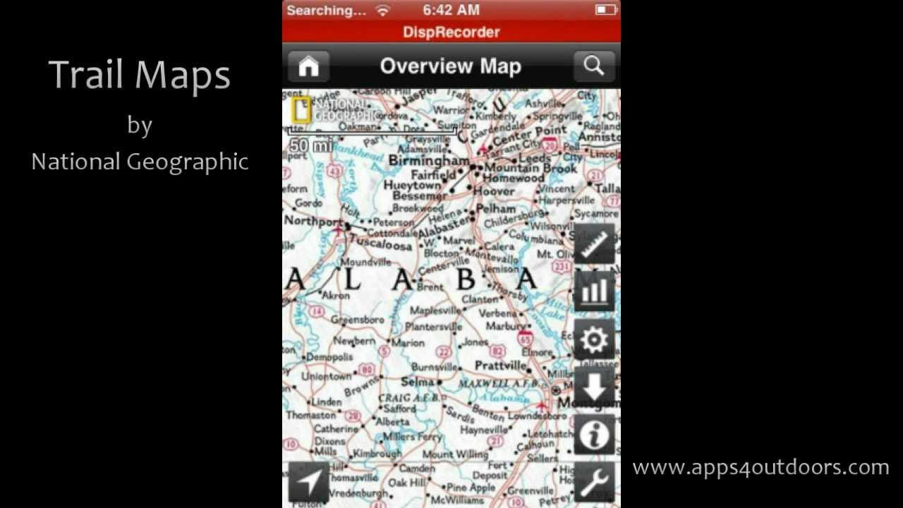 Trail maps by national geographic app review youtube trail maps by national geographic app review gumiabroncs Choice Image