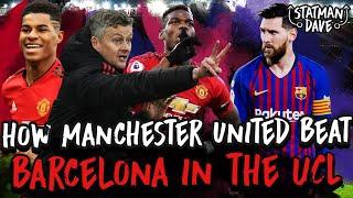 How Man Utd Can Beat Barcelona
