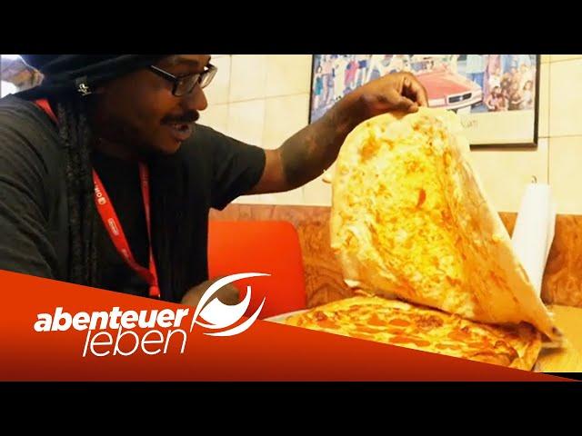 Food-Metropole New York: Die verrücktesten Pizza Varianten im Test | Abenteuer Leben | Kabel Eins