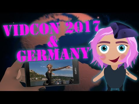 Captn Conquers VidCon California 2017, SFTP Con Germany, Hamburg G20, and a Lake - Travel Vlog