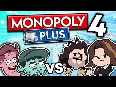 Monopoly VS SuperMega: Arin's Big Mistake - PART 4 - Game Grumps VS