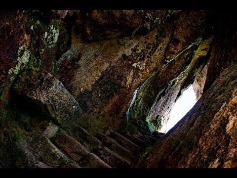 Ancient Tunnels And Labyrinths Near Inca Cusco In Peru