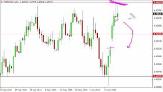 GBP/USD Technical Analysis for June 23 2016 by FXEmpire.com