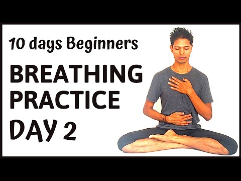 10 days Systematic Pranayama Practice day 2 - Yoga with Amit