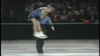 Torvill & Dean (GBR) - 1990 World Professionals, Ice Dancing, Technical Dance