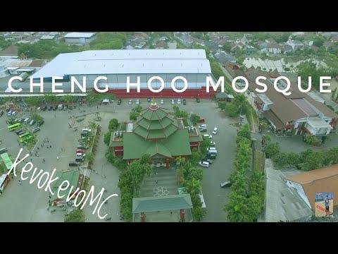 Cheng Hoo Chinese Mosque East Java 2.7k DJI Phantom 3 Standard Aerial Shots Poi