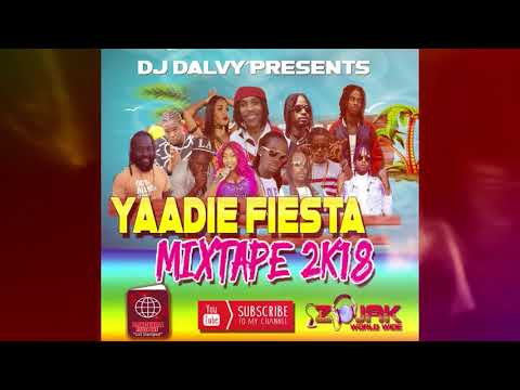 AUGUST 2018 NEW DANCEHALL MIXTAPE - (YAADIE FIESTA MIXTAPE )-  Rygin King,Teejay,Govana,Alkaline