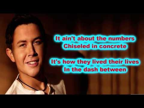 Scotty McCreery - The Dash (Lyrics)