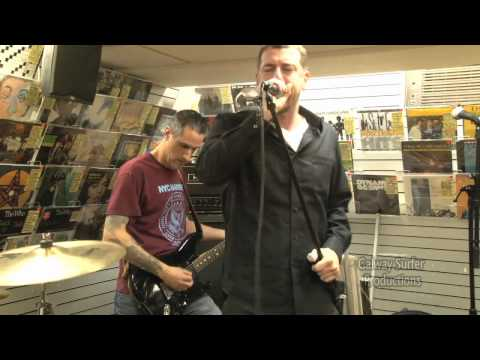 """Supertouch performing """"Intro / Climbing Aboard"""" at Generation Records NYC"""