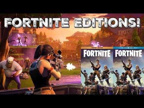 Which Fortnite Edition Should You Buy? | Deluxe, Super Deluxe, Limited