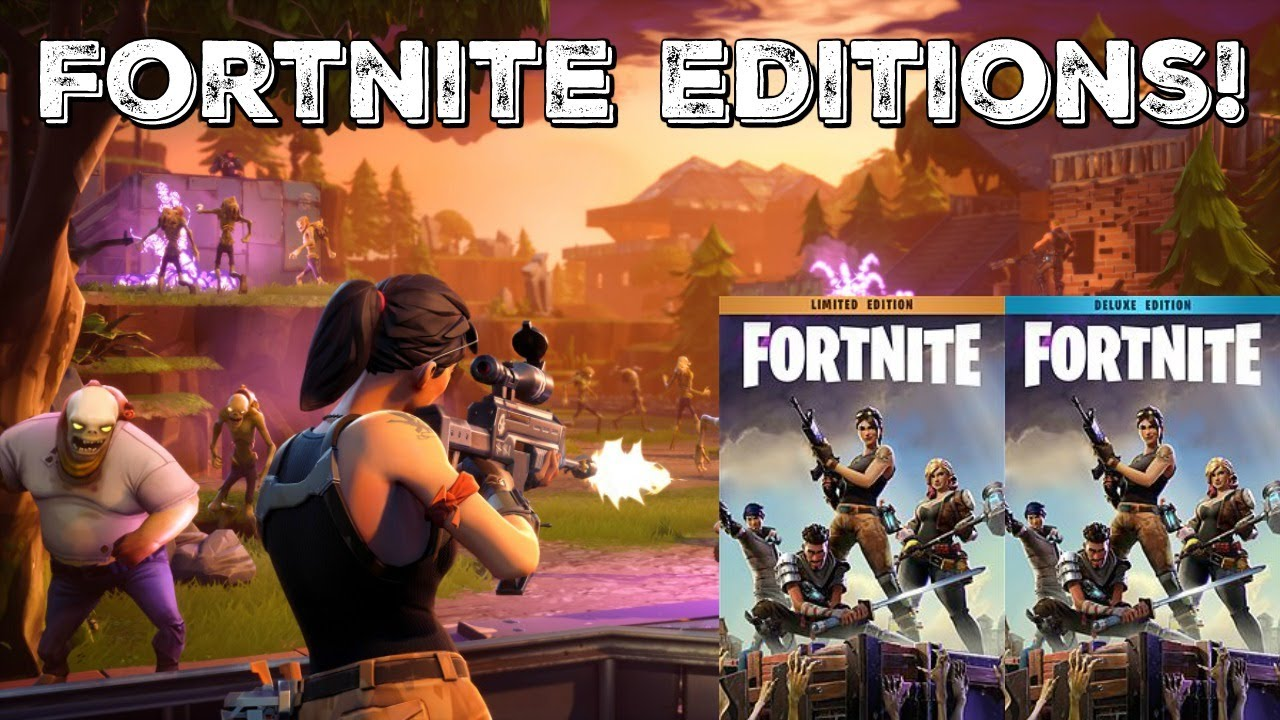 Which Fortnite Edition Should You Buy Deluxe Super Deluxe