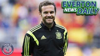 Mata Set to Sign? | Everton News Daily