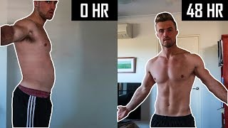 HOW I LOST 6.35KG(14LBS) IN 2 DAYS | 48 HOUR WATER FASTING VLOG