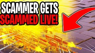 Catching Scammers Live! (Scammer Gets Scammed) Fortnite Save The World.mp3