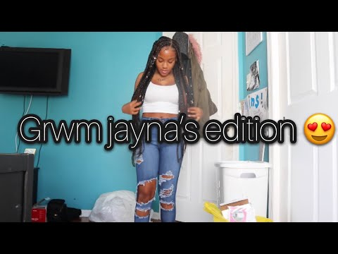 GET READY WITH ME 🌞💄 (just jayna)
