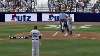 MLB 2K9 PC Gameplay BAL Orioles@NYY Yankees 1st Top