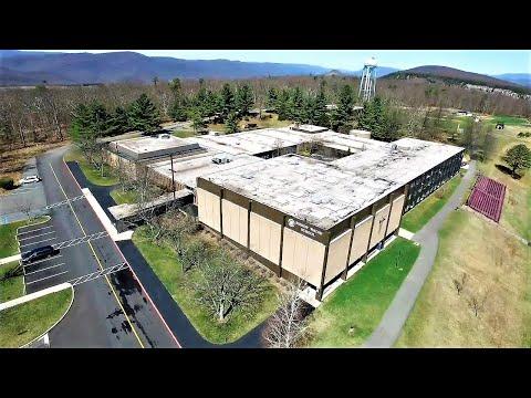 DJI Inspire 1 Drone flight around Bishop Walsh School, Cumberland, Maryland - NOT in 4k!