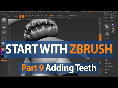 Getting Started with ZBrush - CGMeetup : Community for CG