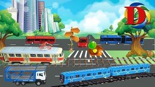 Городской транспорт машинки. Машины для детей Распаковка игрушек машинки Toy City Transport for Kids