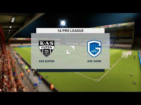 Eupen vs Genk | Belgian Pro League (06/01/2021) | Fifa 21 |