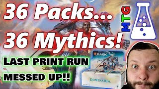 Mythic Cards in every pack?! | How many Teferis?? | Dominaria | Magic The Gathering |