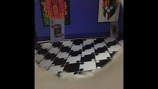 Ames Odası Ames Room Deney Maket Seti