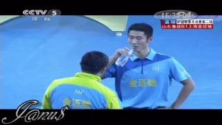 2012/13 China Super League: WANG Liqin - ZHANG Jike [Full Match/Short Form]