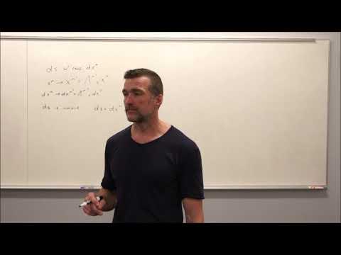 General Relativity Topic 6: Vectors and Dual Vectors