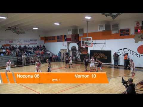 Nocona Lady Indians vs Vernon