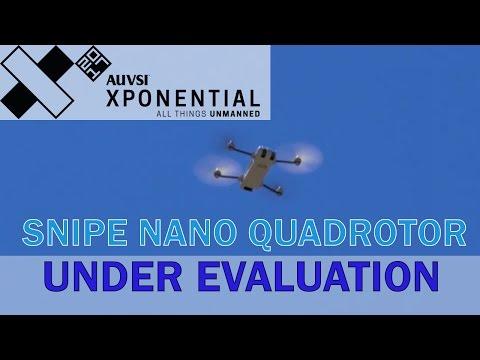 Snipe Nano Quadrotor Under Evaluation