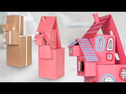 diy-cardboard-dollhouse-|-easy-&-cute-crafts-for-kids