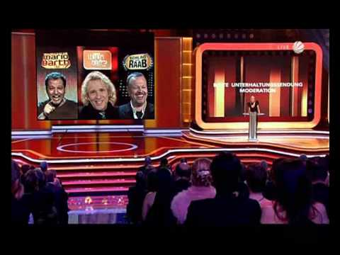 Deutscher Fernsehpreis: Beste Unterhaltungssendung