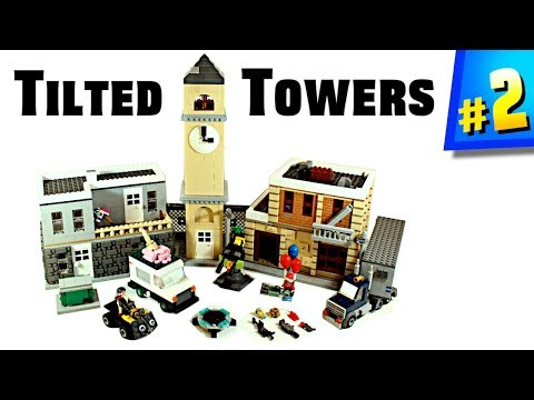 LEGO Fortnite - Tilted Towers MOC!