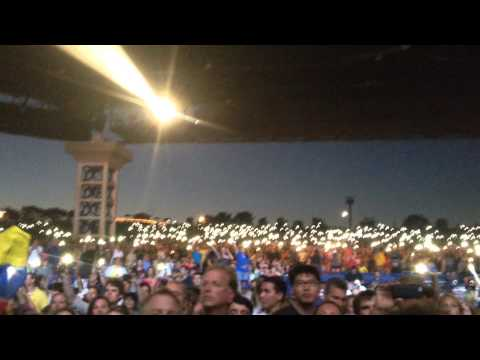 Hall of Fame - The Script (Live @ Walnut Creek Amphitheater in Raleigh, NC - August 13, '14)