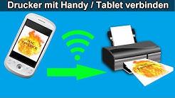 Handy / Tablet mit Canon Drucker verbinden – Bilder & Dokumente vom Smartphone aus drucken mit Wlan