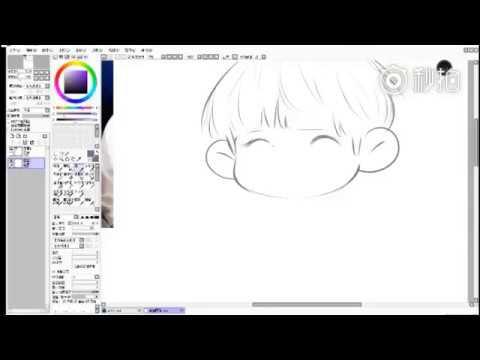[TTV] Fan tự tay vẽ chibi Nguyên Nguyên siêu yêu siêu cưng~