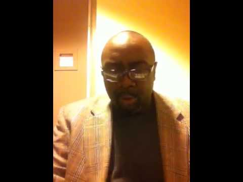 """Marvin Williams sings """"When All God's Children Get Together"""
