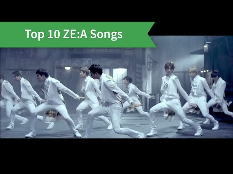 My Top 10 ZE:A Songs